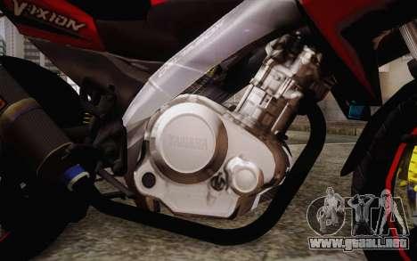 Yamaha V-Ixion 2014 para la visión correcta GTA San Andreas