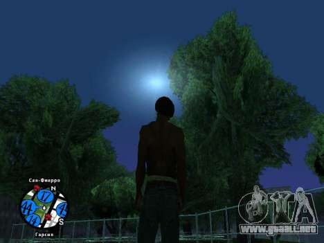 Hidden Photos Map para GTA San Andreas segunda pantalla