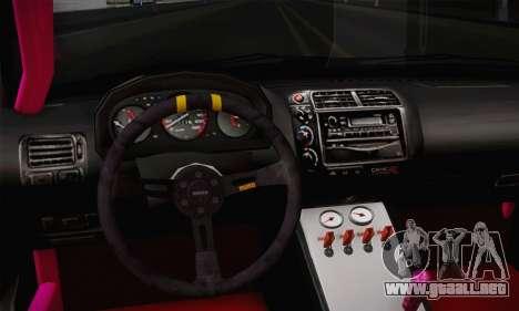 Honda Civic EK9 2000 Hellflush para la visión correcta GTA San Andreas