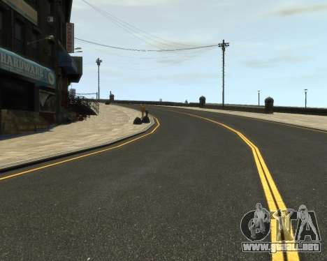 New Roads  (Textures - HD) para GTA 4 tercera pantalla