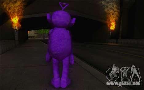 Casting de revestimiento grueso-Winky de los Tel para GTA San Andreas segunda pantalla