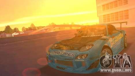 Mazda RX7 FD3S RE Amamiya G-Reddy para GTA Vice City