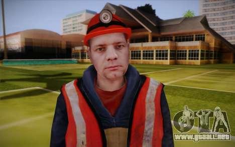 Trabajador de la carretera para GTA San Andreas tercera pantalla