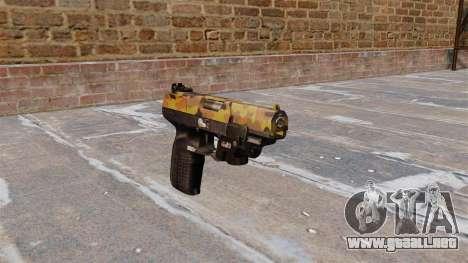 Pistola FN Five seveN LAM Otoño para GTA 4