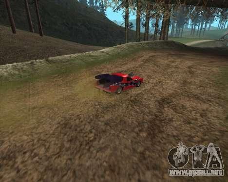 Rocket Picador GT para GTA San Andreas vista posterior izquierda