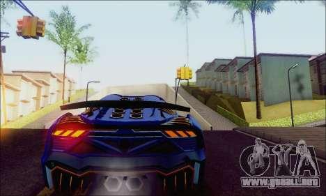 Zentorno GTA 5 V.1 para la visión correcta GTA San Andreas