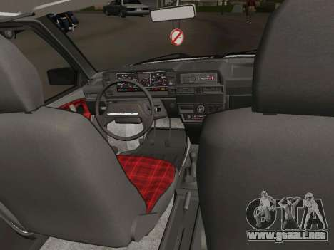 VAZ-21093 para visión interna GTA San Andreas