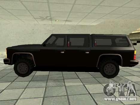 SWAT Original Cruiser para GTA San Andreas left