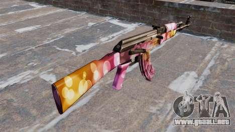 El AK-47 Puntos para GTA 4 segundos de pantalla