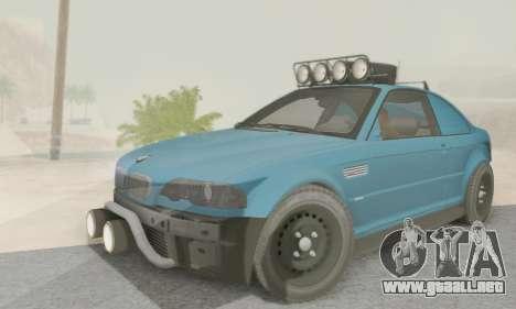 BMW M3 E46 Offroad Version para GTA San Andreas