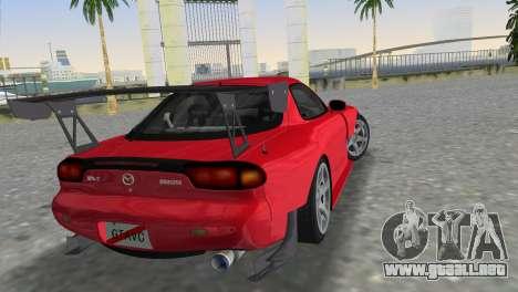 Mazda RX7 FD3S RE Amamiya Road Version para GTA Vice City left