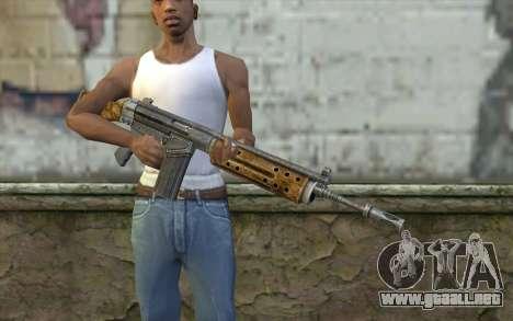 R91 Assault Rifle para GTA San Andreas tercera pantalla