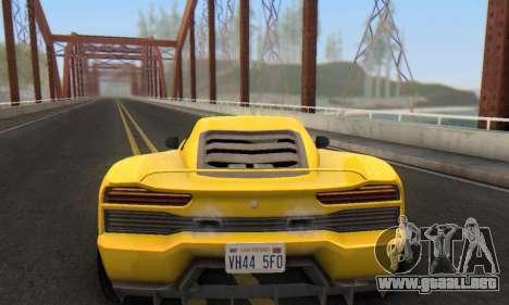 Pegassi Vacca para GTA San Andreas interior