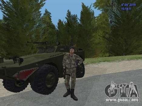 USSR Special Forces para GTA San Andreas sexta pantalla