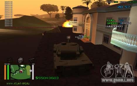 C-HUD by Bodie para GTA San Andreas segunda pantalla