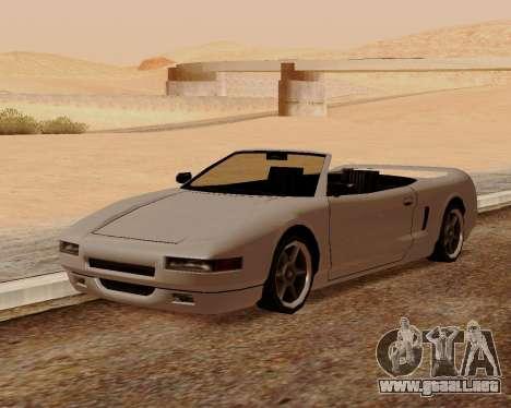 Infernus Convertible para GTA San Andreas