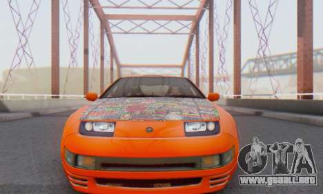 Nissan 300ZX Fairlady para GTA San Andreas left