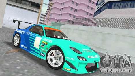 Mazda RX7 FD3S RE Amamiya Falken para GTA Vice City