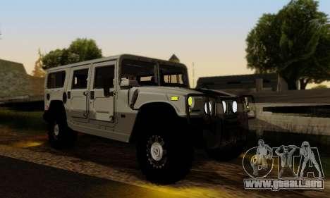 Hummer H1 Alpha para visión interna GTA San Andreas