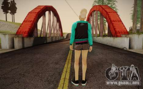 Niña bonita para GTA San Andreas segunda pantalla