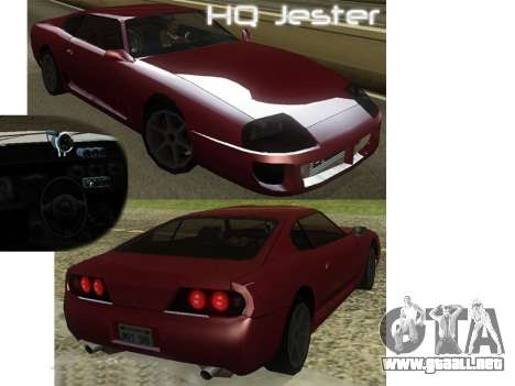 New Jester HQ para GTA San Andreas