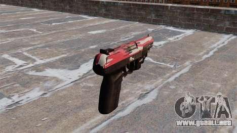 Pistola FN Five seveN LAM Rojo urbano para GTA 4 segundos de pantalla