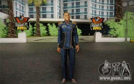 El capitán David Anderson из Efecto de Masa de l para GTA San Andreas