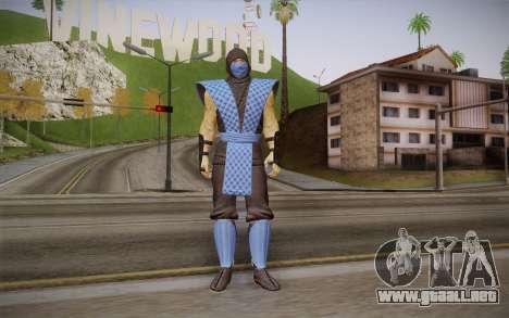 Clásico de Sub Zero из MK9 DLC para GTA San Andreas