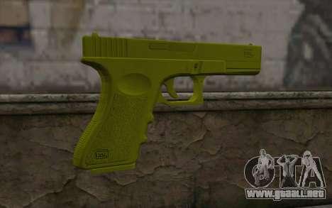 Golden Glock 18C para GTA San Andreas segunda pantalla