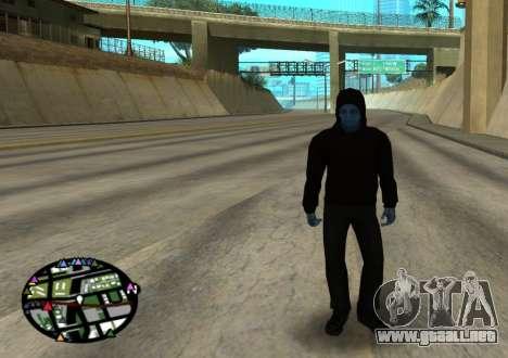El poder de la nueva spider-man 2 para GTA San Andreas sucesivamente de pantalla