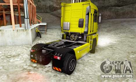 Renault Magnum Stock 2009 para GTA San Andreas left