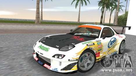 Mazda RX7 FD3S RE Amamiya Arial para GTA Vice City
