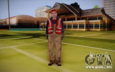 Trabajador de la carretera para GTA San Andreas