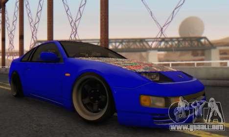 Nissan 300ZX Fairlady para la visión correcta GTA San Andreas