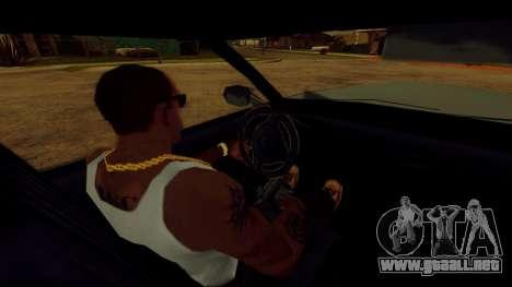 La rotación de la rueda de los coches estándar para GTA San Andreas