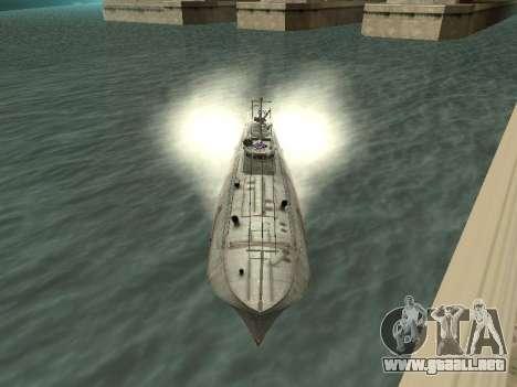 Bote Torpedo tipo G-5 para GTA San Andreas left