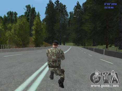 USSR Special Forces para GTA San Andreas séptima pantalla