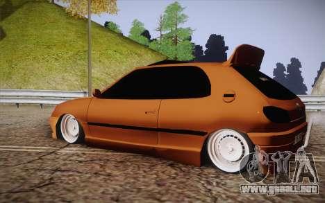 Peugeot 306 GTI 41 NS 681 para GTA San Andreas left
