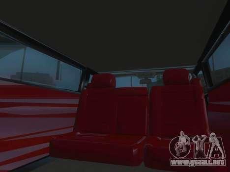 Hummer H2 Limousine para la vista superior GTA San Andreas