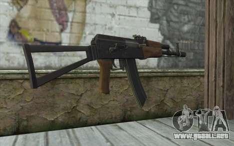 AK74 Rifle para GTA San Andreas segunda pantalla