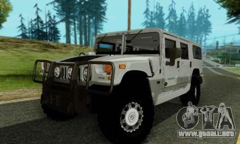 Hummer H1 Alpha para la vista superior GTA San Andreas