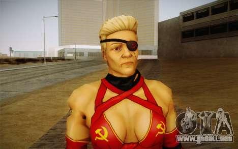 La madre Rusia из Kick Ass 2 para GTA San Andreas tercera pantalla
