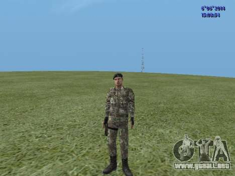 USSR Special Forces para GTA San Andreas