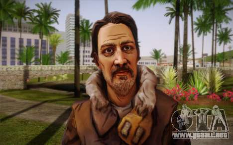 William Carver из The Walking Dead para GTA San Andreas tercera pantalla