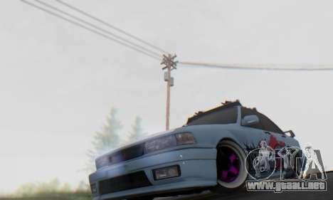 Mitsubishi Galant Generation Rock 1992 para visión interna GTA San Andreas