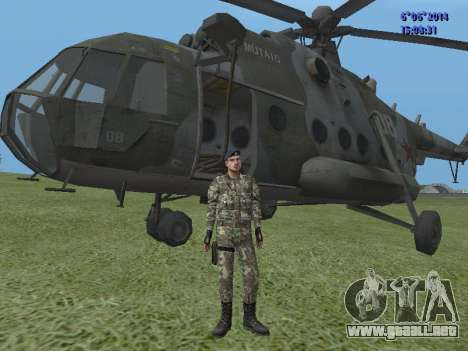 USSR Special Forces para GTA San Andreas tercera pantalla