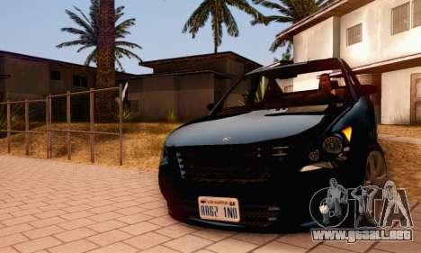 Karin Asterope V1.0 para la vista superior GTA San Andreas