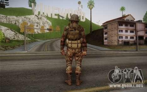 U.S. Soldier v1 para GTA San Andreas segunda pantalla