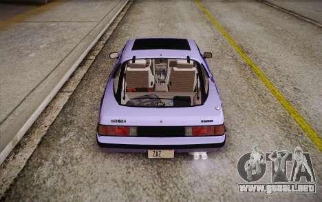 Mazda RX-7 GSL-SE 1985 HQLM para GTA San Andreas interior