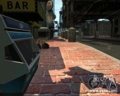 New Roads  (Textures - HD) para GTA 4 adelante de pantalla